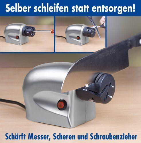 Electrodomestico - GHZ-Matra 107449 – Afilador de cuchillos eléctrico -  http://tienda.casuarios.com/ghz-matra-107449-afilador-de-cuchillos-electrico/