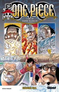 Couverture One Piece, tome 58 : L'ère de Barbe Blanche