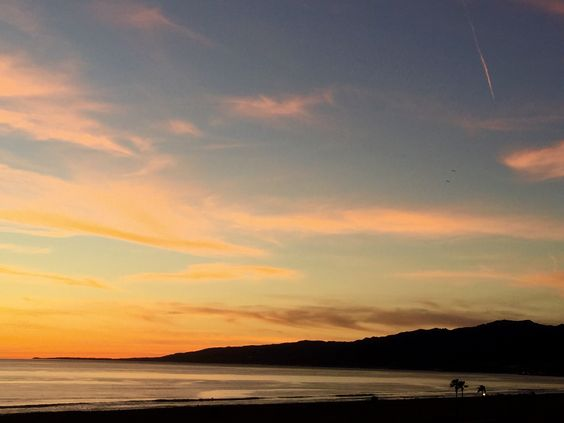 #SantaMonica Bay #Sunset in February 2015