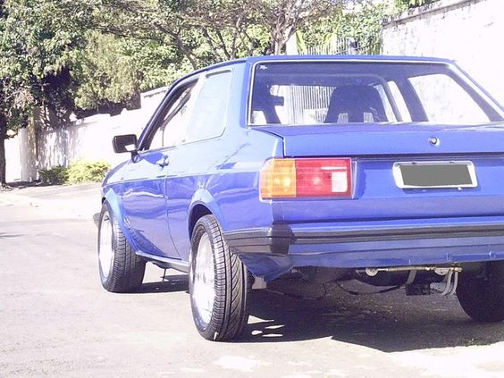 volkswagen Vw Voyage 1983 Fox Brazil