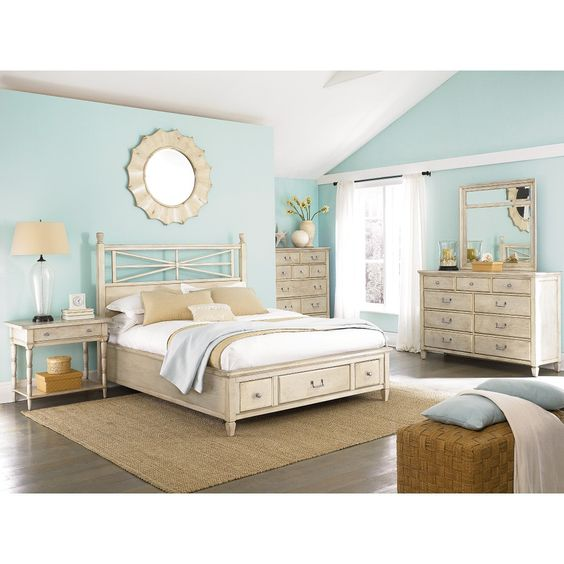 Light Blue Master Bedroom: The Relaxed, Natural Aesthetic Of The Americana Home