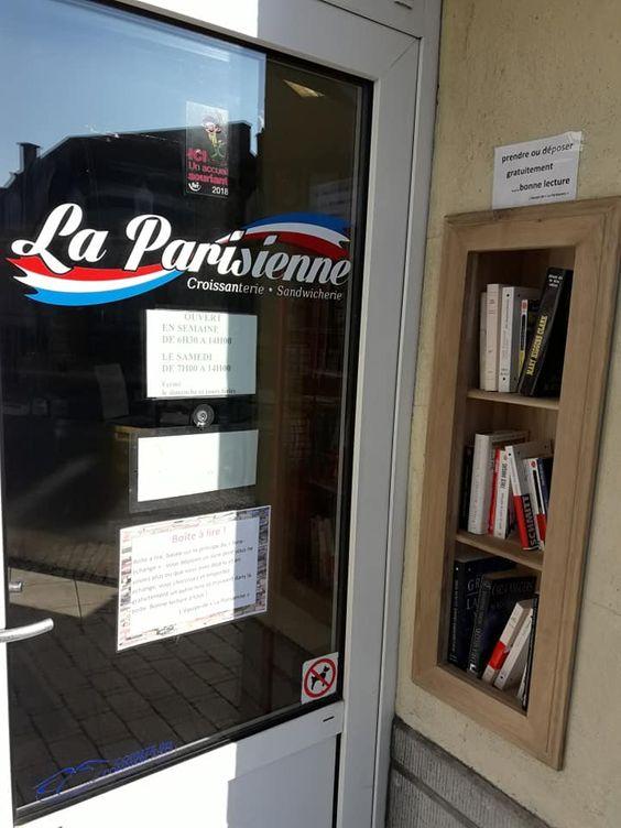 Boîte à livres Rochefort 2