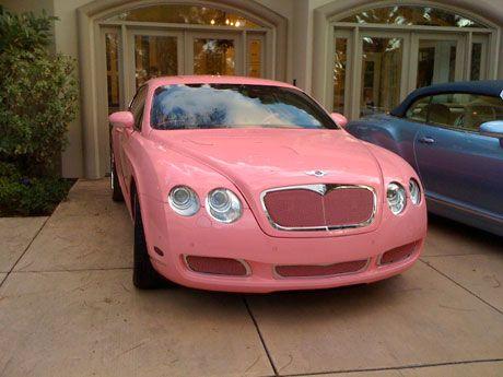 Pink Bentley!