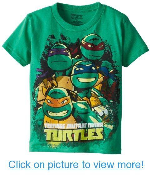 Teenage Mutant Ninja Turtles Boys 2-7 Teenage Mutant Ninja Turtles Group Action
