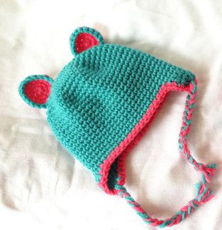 Free Baby Bear Hat Crochet Pattern - Baubles & Baubles