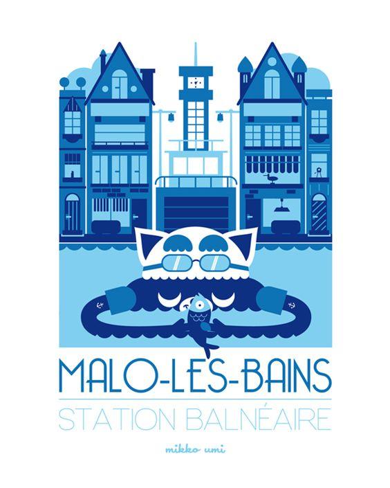 Malo-les-Bains. Mikko Umi