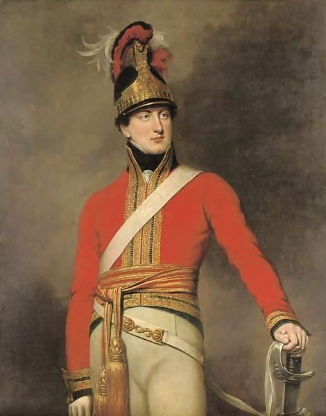 Officer of the 1st King's Dragoon Guards 1815: