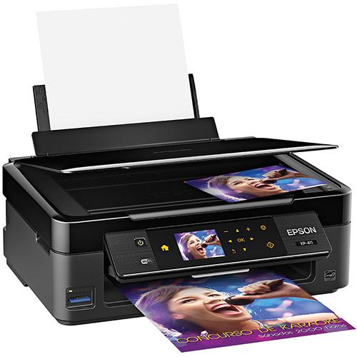 Multifuncional Jato de Tinta Epson XP-411 Wireless