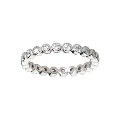 Wedding band Platinum, diamonds REF: B4072200 A symbol of ...
