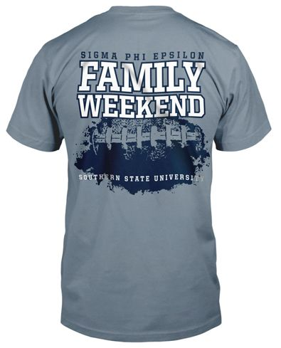 Sig Ep Family Weekend T-shirt.