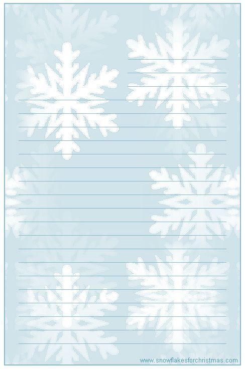 Holiday Lined Writing Paper  WritingpaperLinedPng  Printable