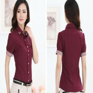 office uniform designs for women pants and blouse, View ...