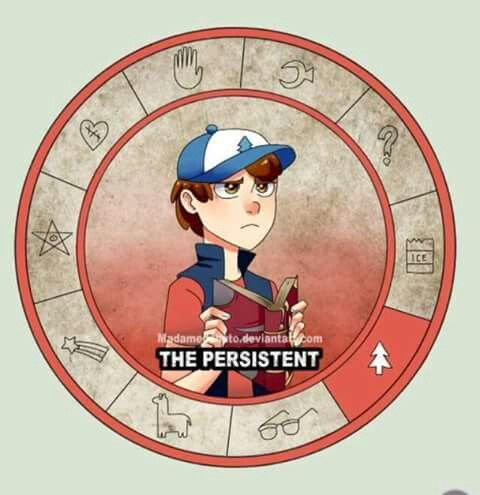 Cipher Wheel - Dipper Pines by madamedobato.deviantart