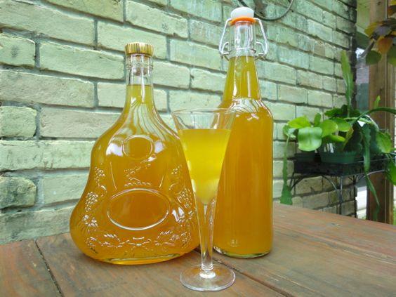 Dried Apricot Liqueur Bottles Cordial Glass Homemade Dried Apricot Liqueur, A Sun Kissed Gift from God