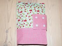 Wickeltasche, Windeltasche mit Erdbeeren ♥
