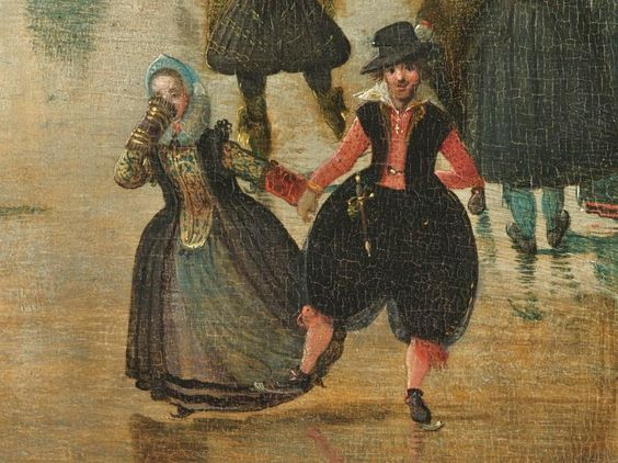 """Картинки по запросу """"Winterlandschap met schaatsers"""" van Hendrick Avercamp (1608)"""