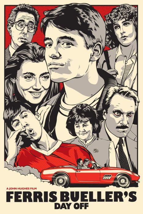 Alternative Ferris Bueller Posters - Films - ShortList Magazine