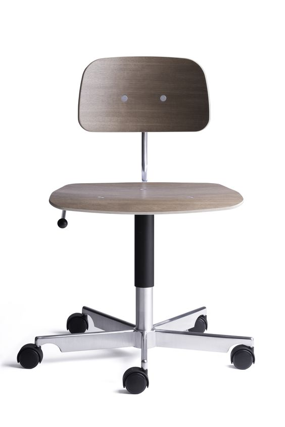 KEVI 2533 walnut. Office chair designed by Jørgen Rasmussen