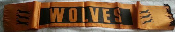Wolves FC Vintage 'Silk' Scarf Wolverhampton Wanderers
