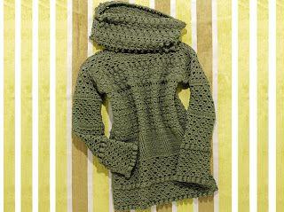Receitas de Crochet: Maxi pool de crochet
