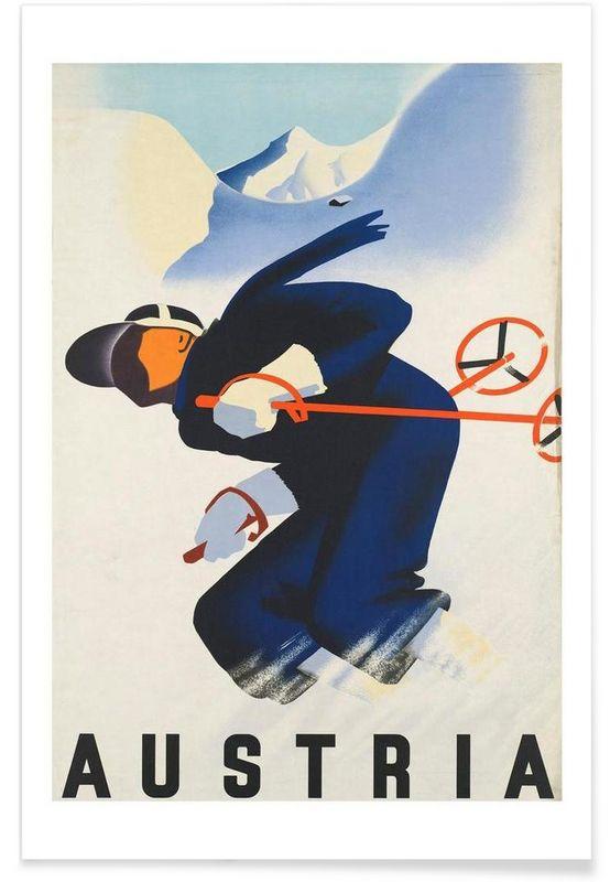 austria2 als Premium Poster von Robert Livingston   JUNIQE