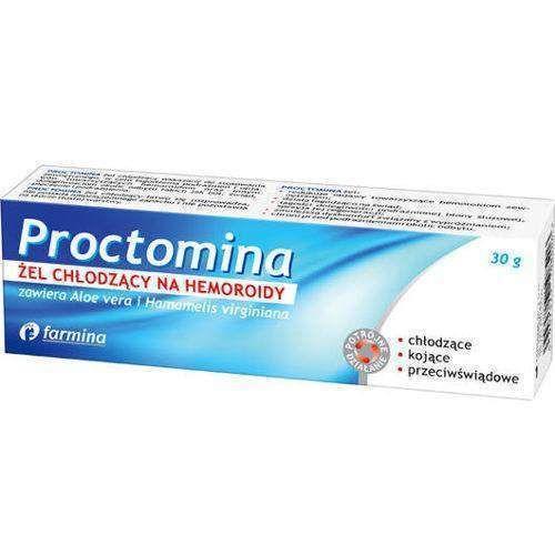 Proctomina Cooling Gel Hemorrhoids 30g Preparation H Cooling Gel