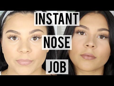 How To Contour Your Nose | Get A Slimmer Nose Instantly - YouTube