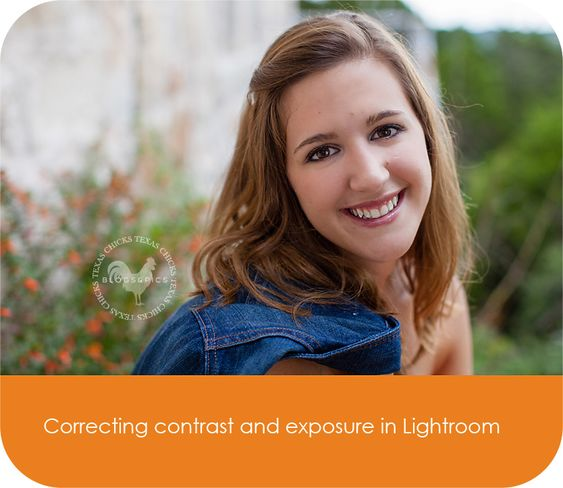 How to correct exposure and contrast in Lightroom.  More importantly, how to know when you've corrected enough!