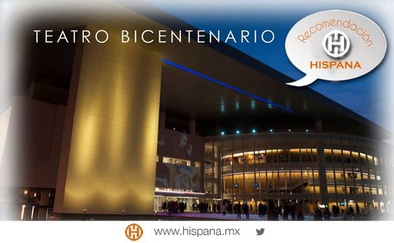 Nuestra recomendación: visita el Teatro Bicentenario, un hermoso lugar con una serie de presentaciones magníficas.