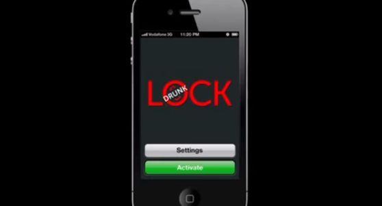 Das beste iPhone App der Welt: Drunk Lock on http://www.drlima.net