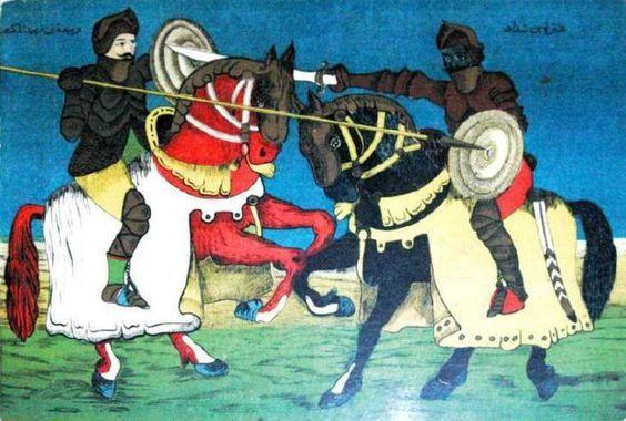 بحث عن عنترة بن شداد ملف شامل عن حياة عنترة بن شداد الحقيقية أبحاث نت Old Advertisements Art Painting