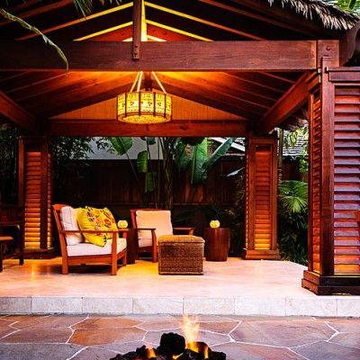 Pavilion - Tropical Plants Retreat - Sunset.com