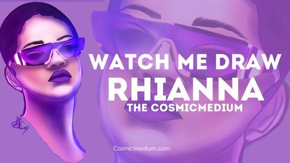 Watch Me Draw Rhianna Video