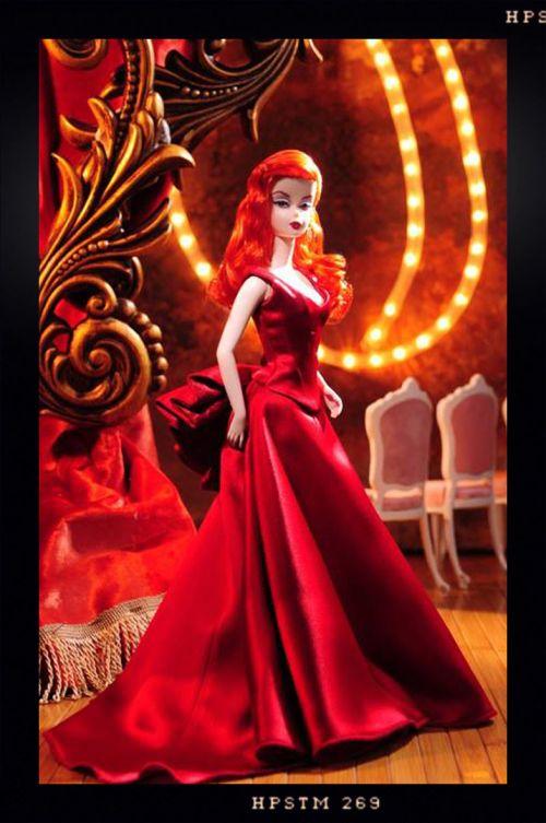 OOAK Barbie. La Belle Du Moulin Rouge.