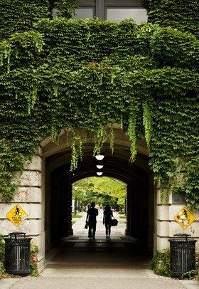 Watch out for a kiss under the Engineering Arch! | 17 Reasons University Of Michigan Should Be On Your Radar