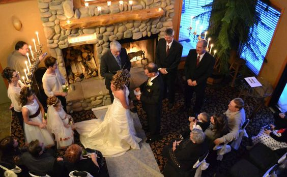 "Looking for a wedding location that's gives you that ""Destination Wedding"" feel without the cost? Let the Elkwater Lake Lodge and Resort play host!  No matter what the season. #Beautiful and #Elegant www.visitcypresshills.ca"