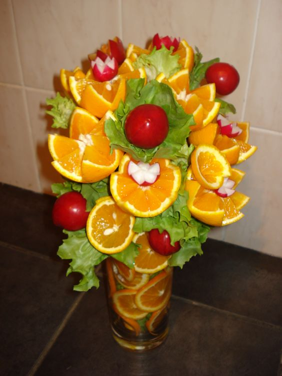Animal fruit carvings google search creative food