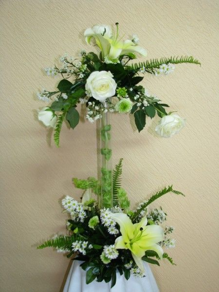 Centro de mesa centros mesas modernos arreglos florales for Centros de mesa artificiales
