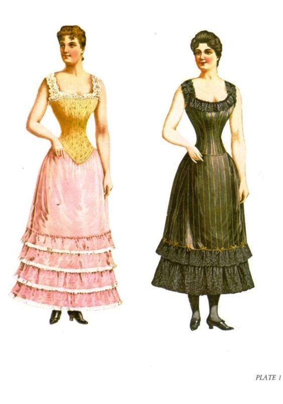 Paper Dolls Victorianas | Mi Casita de Papel