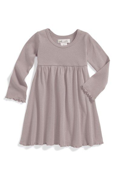 Infant Girl&-39-s Peek &-39-Little Peanut&-39- Long Sleeve Dress - Pinterest ...