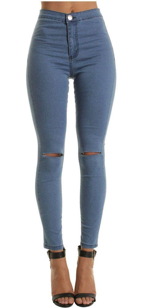 Pantalones Girlfriend Jeans Vaqueros Colombianos Levanta Cola Ropa De Mujer Mercantilexpress Slimskinny Ves Jeans De Tiro Alto Pantalones Jeans Pantalones