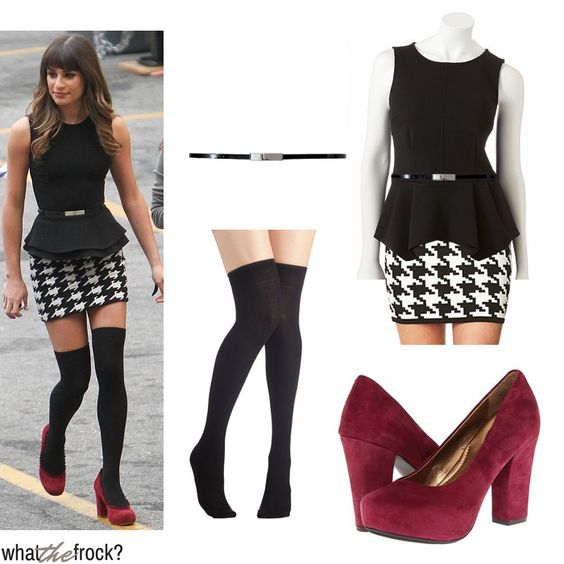 Celebrity Look for Less: Lea Michele Style