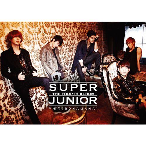 SUPER JUNIOR – 미인아 (BONAMANA) – The 4th Album
