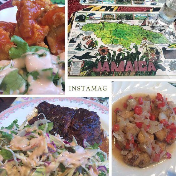 . Jamaican food  初体験 この日は先輩と さらにお店のご主人(Jamaican)も Birthdayとゆうとてもおめでたい日でした ジャークチキンおいしかったよ(ω) . #iphone5s #instagood #instapic #instafood #instaphoto #instadiary #instalove #instamood #likeit #love #yummy #kobe #jamaican #jamaicanfood #happybirthday by ykkny