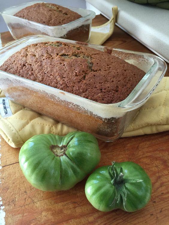 **** Green Tomato Bread - green tomatoes
