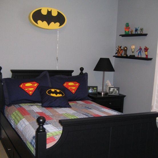 Para los ni os habitaci n de superh roes ideas para - Decoracion de habitaciones para jovenes ...