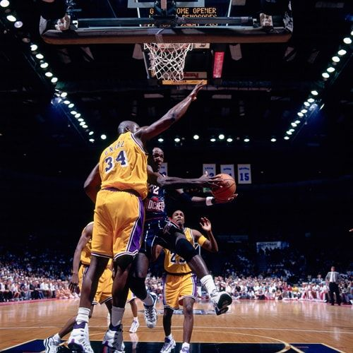 Shaquille O Neal Photo Gallery Los Angeles Lakers In 2020 Shaquille O Neal Lakers Photo
