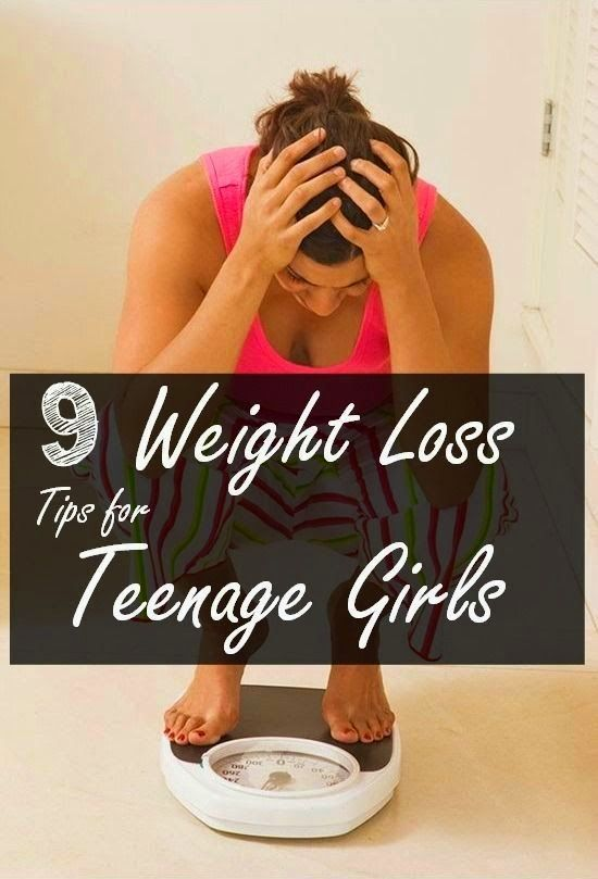 Healthy weights for teen girls