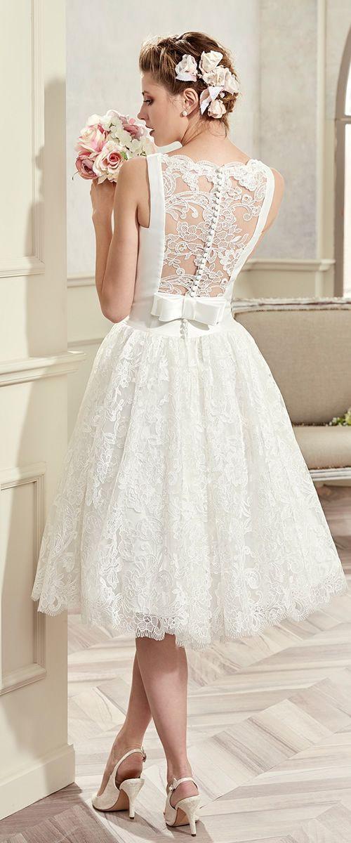 Short Wedding Dress COAB17234 | Colet 2017 Bridal Collection