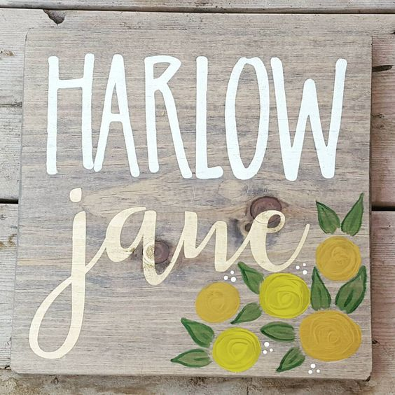 This beauty still needs a frame but I love it without a frame too! I have been working hard on a nursery line, keep your eye out for it in early January :) #woodsign #nurserywallart #customwoodsign #woodwallart #babysign #babyroomwallart #gallerywall #handmadesign